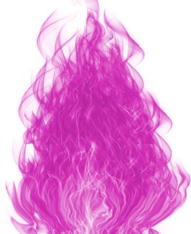 Flamme sacrée Rose