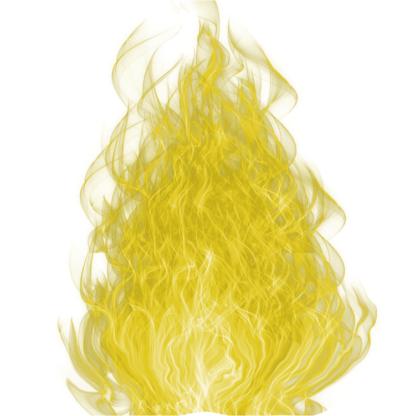 Flamme sacrée Jaune